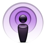 iTunes podcasts icon