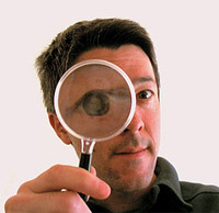 Searchers are looking for you, almost as if they had a magnifying glass